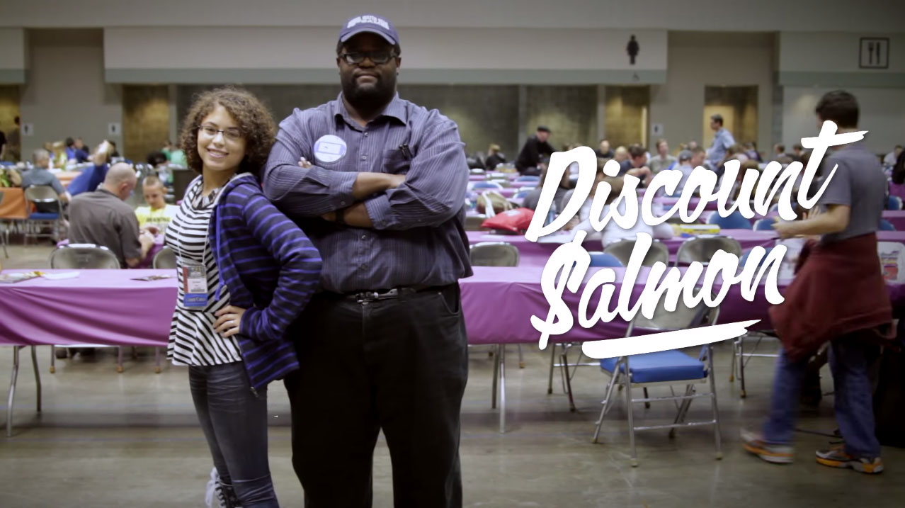Cara and Marcus of Discount Salmon